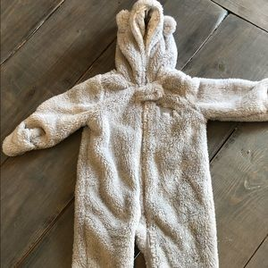 Carters Bear bunting snow suit